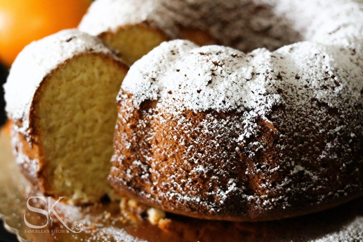 Orange Cinnamon Buttermilk Bundt Cake